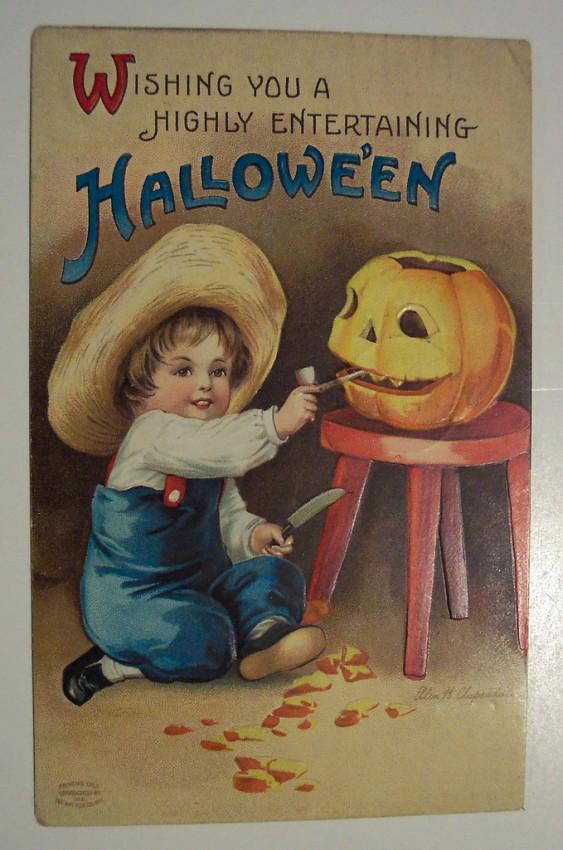 Ilustraciones Halloween retro 097