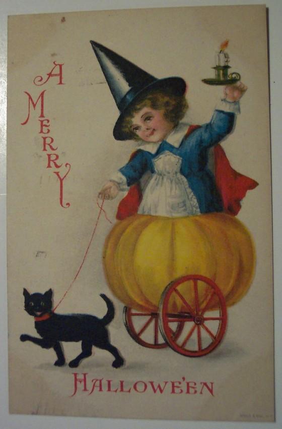 Ilustraciones Halloween retro 100