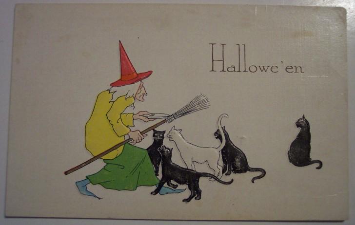 Ilustraciones Halloween retro 105