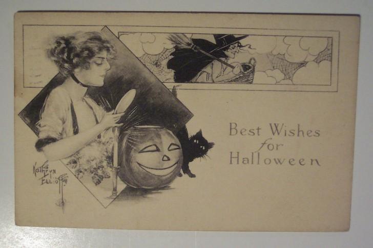 Ilustraciones Halloween retro 106