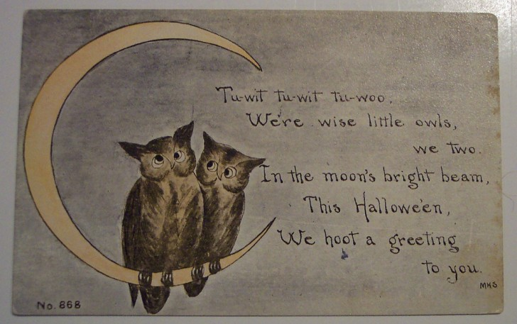 Ilustraciones Halloween retro 108