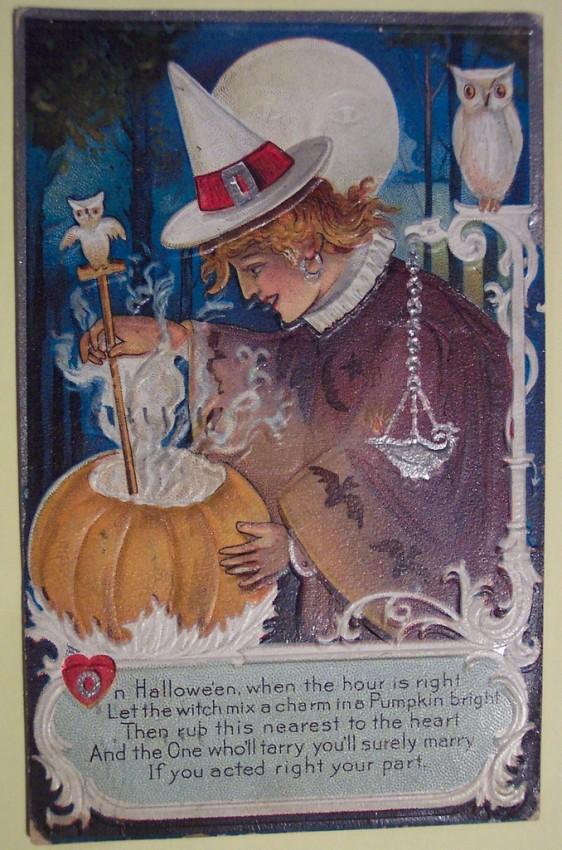 Ilustraciones Halloween retro 117