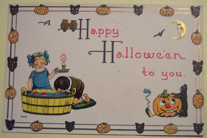 Ilustraciones Halloween retro 119