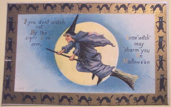 Ilustraciones Halloween retro 120