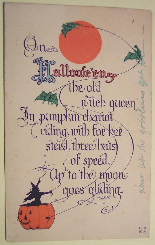 Ilustraciones Halloween retro 122