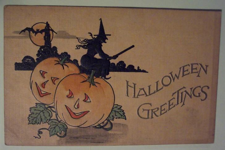 Ilustraciones Halloween retro 126