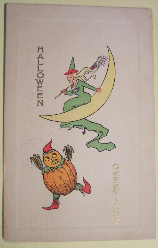 Ilustraciones Halloween retro 127