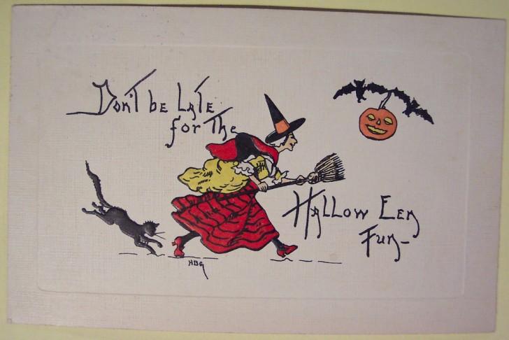 Ilustraciones Halloween retro 129