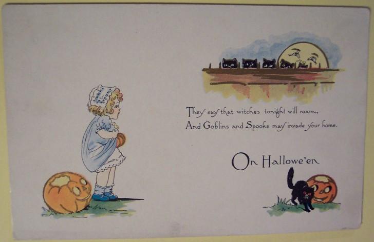 Ilustraciones Halloween retro 135