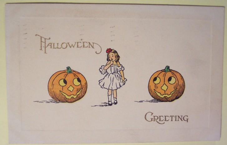 Ilustraciones Halloween retro 138