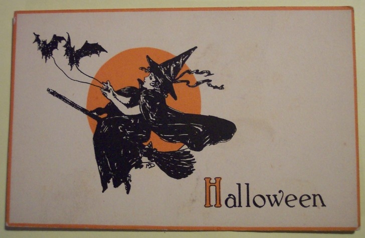 Ilustraciones Halloween retro 141