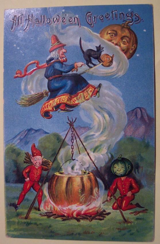 Ilustraciones Halloween retro 146
