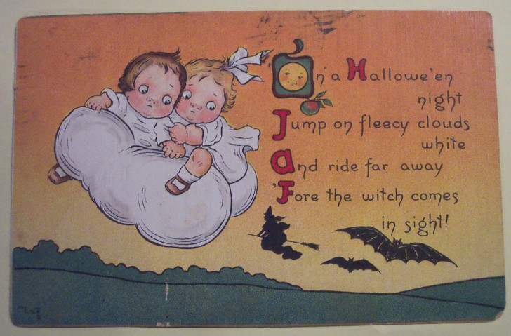Ilustraciones Halloween retro 147
