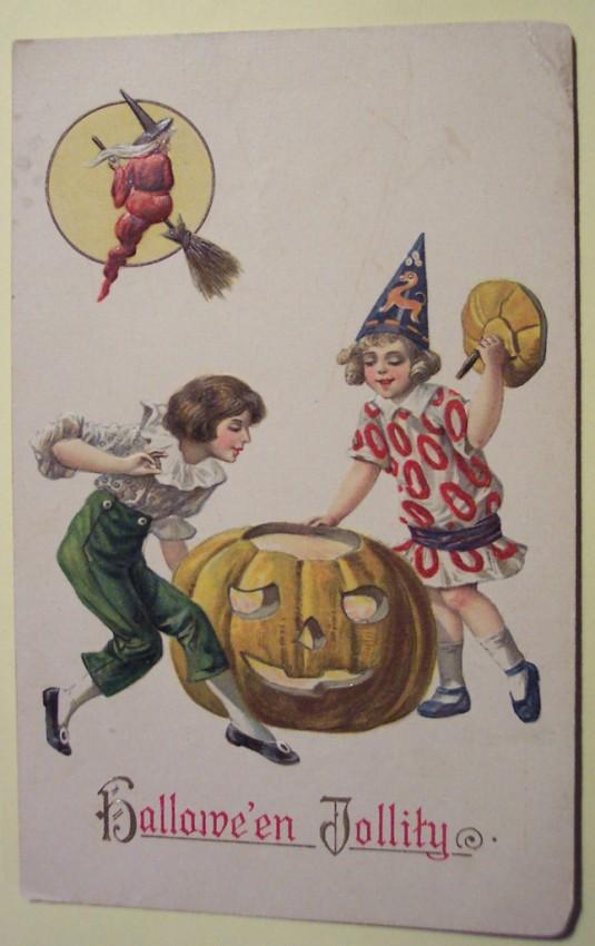 Ilustraciones Halloween retro 148