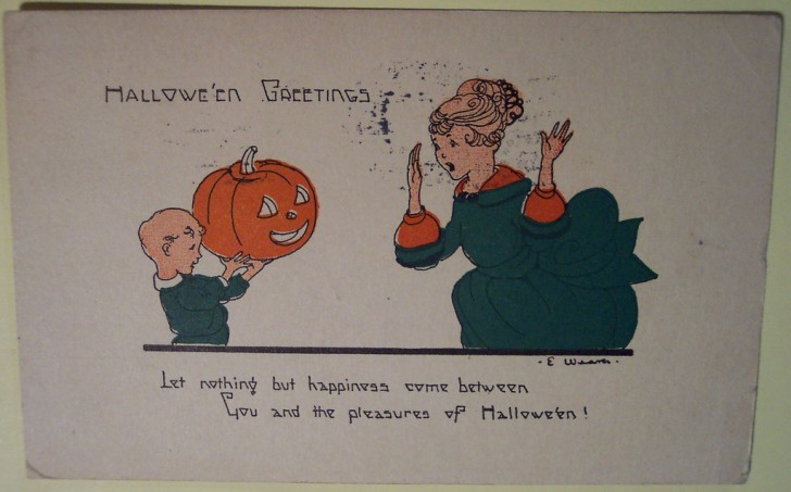 Ilustraciones Halloween retro 150