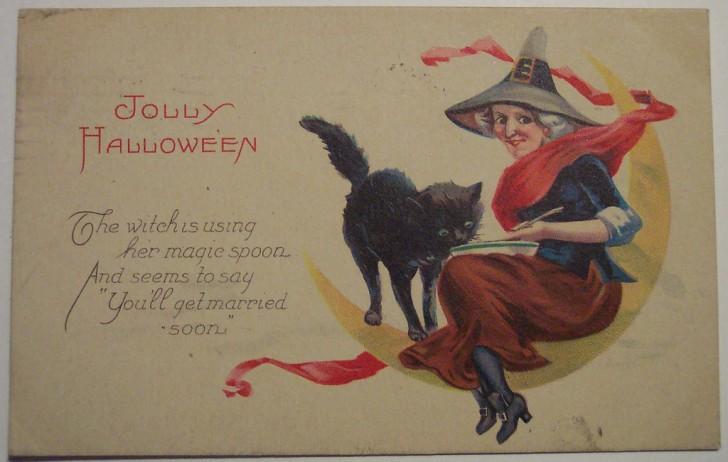 Ilustraciones vintage Halloween 002