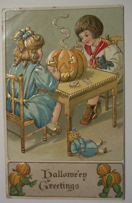 Ilustraciones vintage Halloween 005