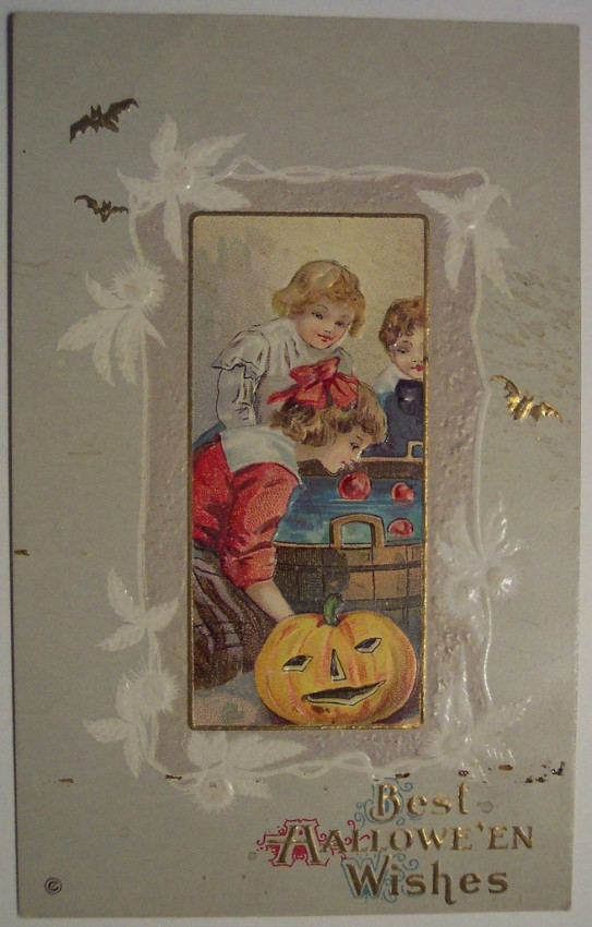 Ilustraciones vintage Halloween 007