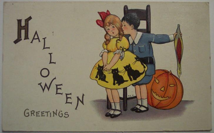 Ilustraciones vintage Halloween 009