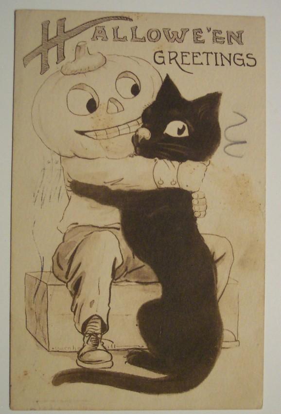 Ilustraciones vintage Halloween 011