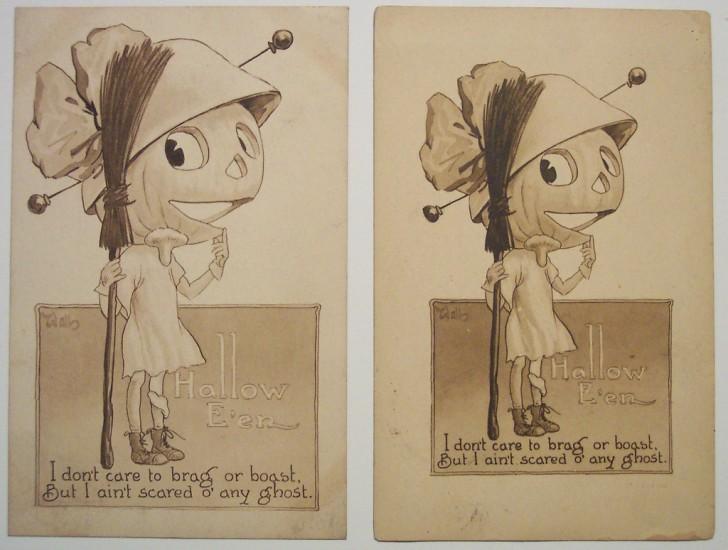 Ilustraciones vintage Halloween 012