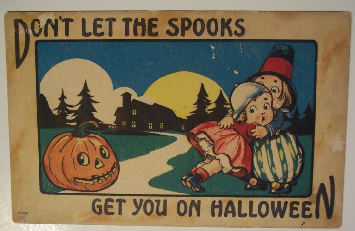 Ilustraciones vintage Halloween 015