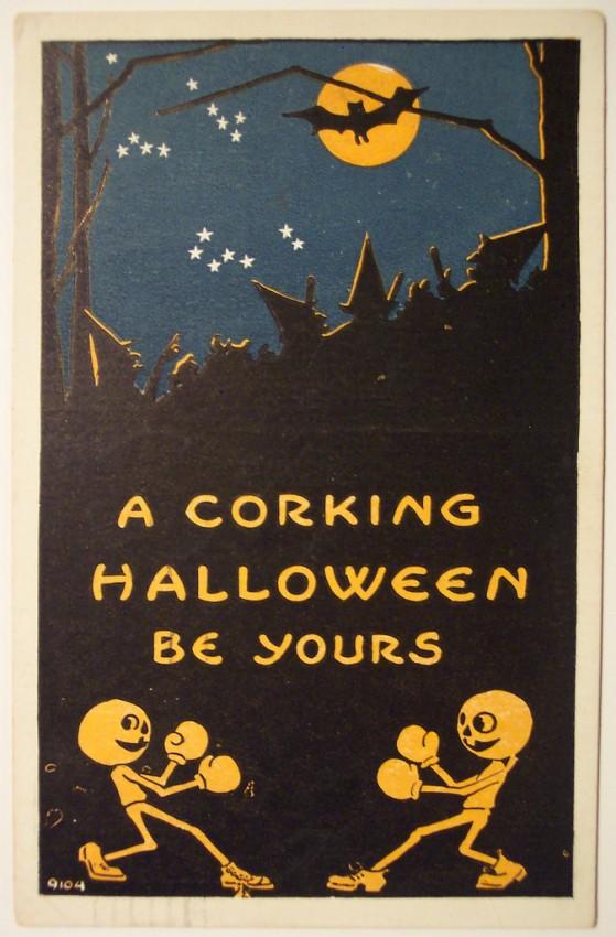 Ilustraciones vintage Halloween 016