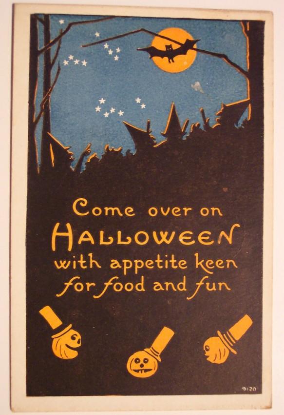 Ilustraciones vintage Halloween 017