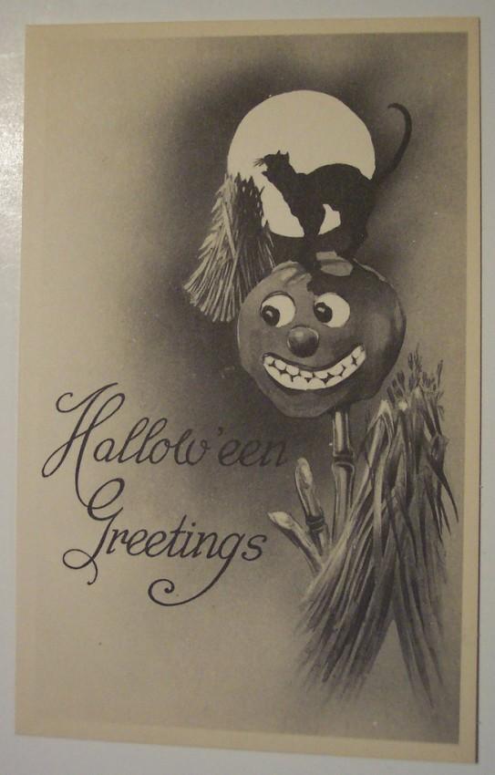 Ilustraciones vintage Halloween 020