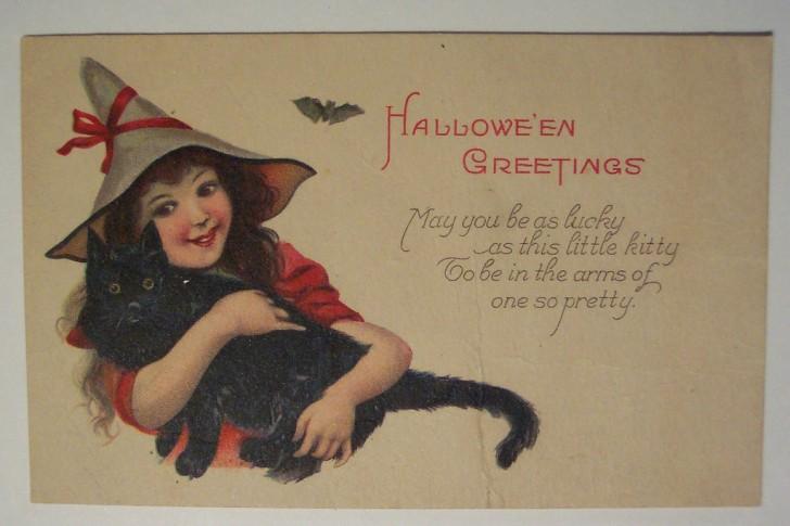 Ilustraciones vintage Halloween 021