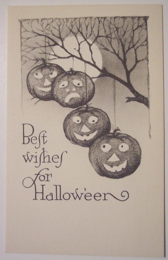 Ilustraciones vintage Halloween 022