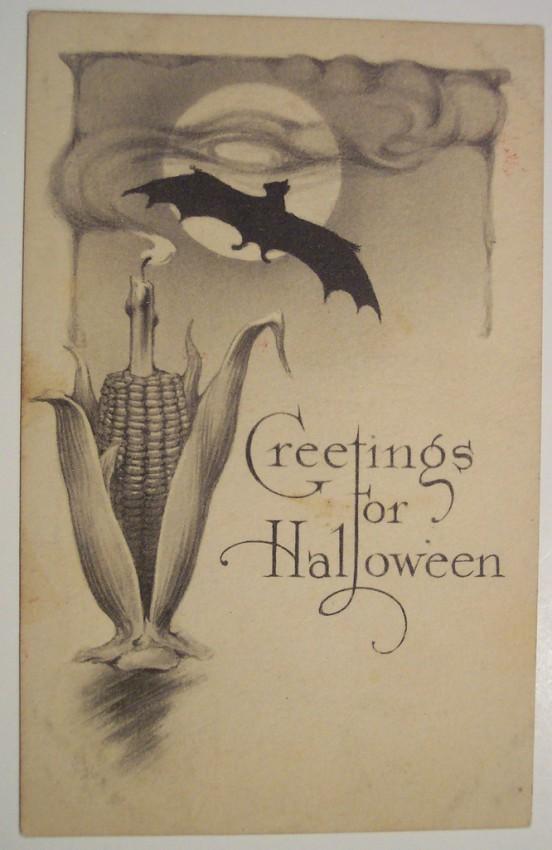 Ilustraciones vintage Halloween 023