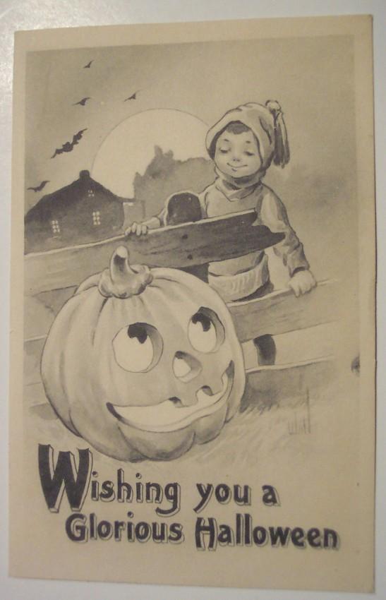 Ilustraciones vintage Halloween 025