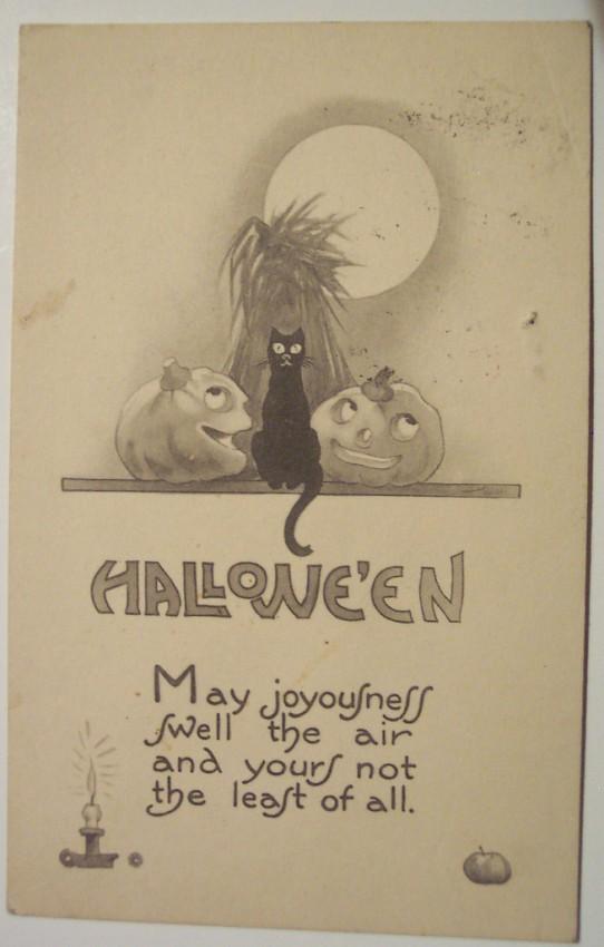 Ilustraciones vintage Halloween 028