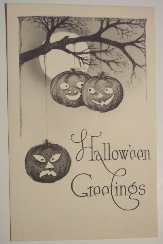 Ilustraciones vintage Halloween 030