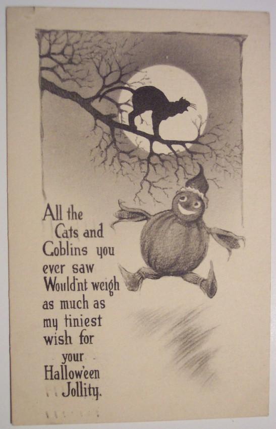 Ilustraciones vintage Halloween 031