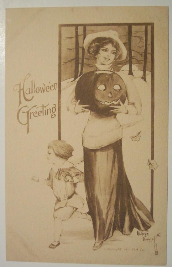 Ilustraciones vintage Halloween 037