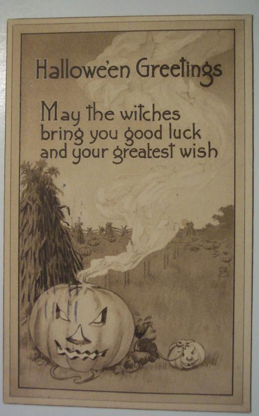Ilustraciones vintage Halloween 040