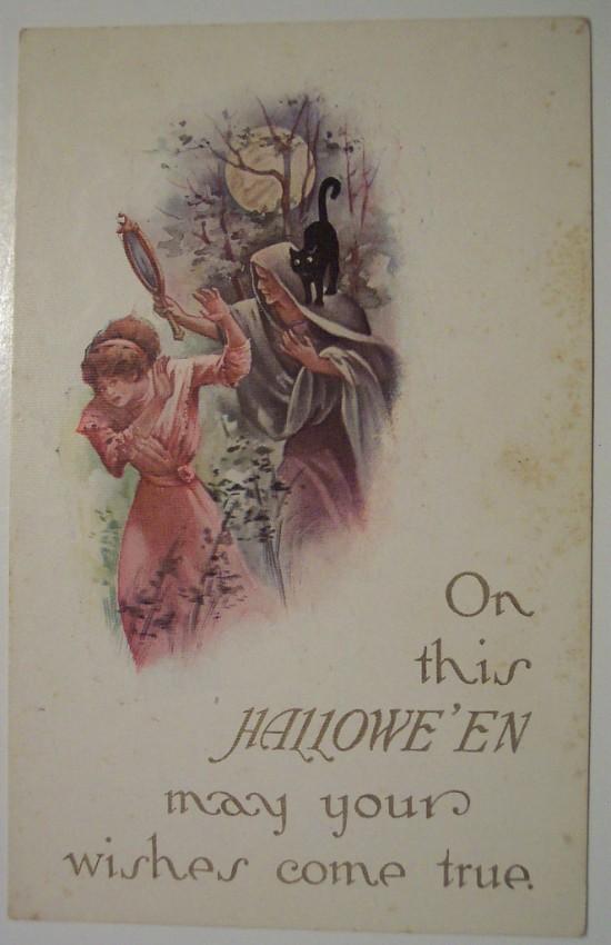 Ilustraciones vintage Halloween 041