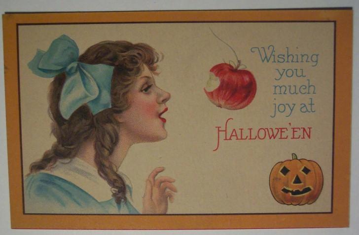 Ilustraciones vintage Halloween 043