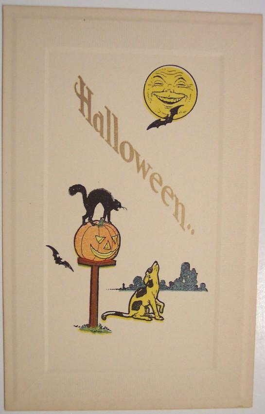 Ilustraciones vintage Halloween 052