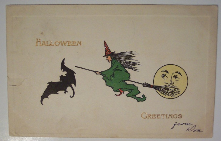 Ilustraciones vintage Halloween 053