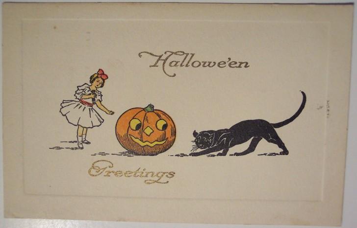 Ilustraciones vintage Halloween 056