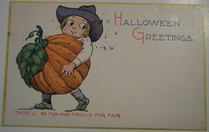 Ilustraciones vintage Halloween 057