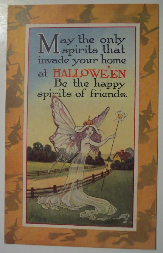 Ilustraciones vintage Halloween 059