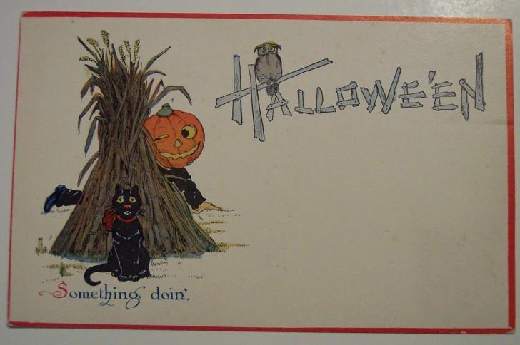 Ilustraciones vintage Halloween 064