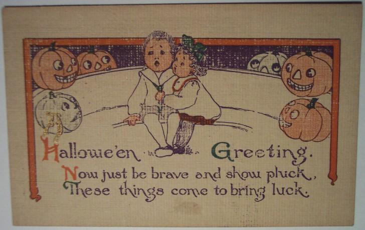 Ilustraciones vintage Halloween 067