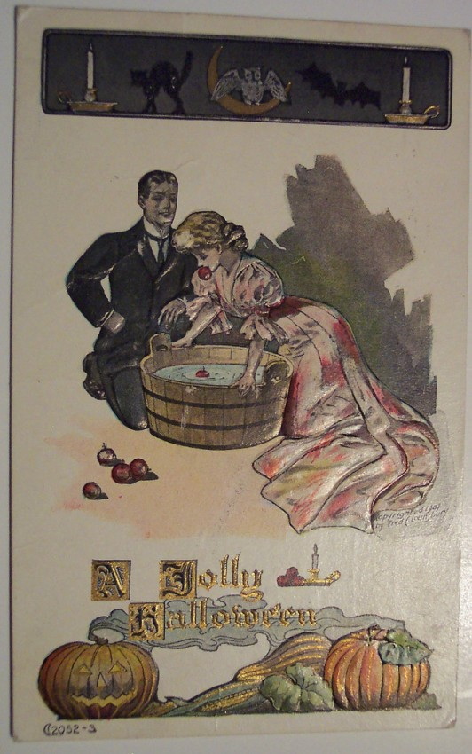 Ilustraciones vintage Halloween 071
