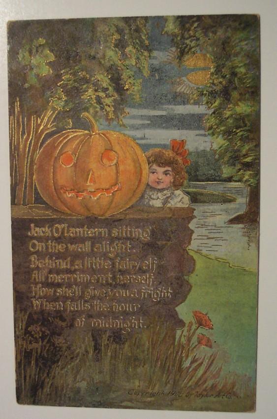 Ilustraciones vintage Halloween 072