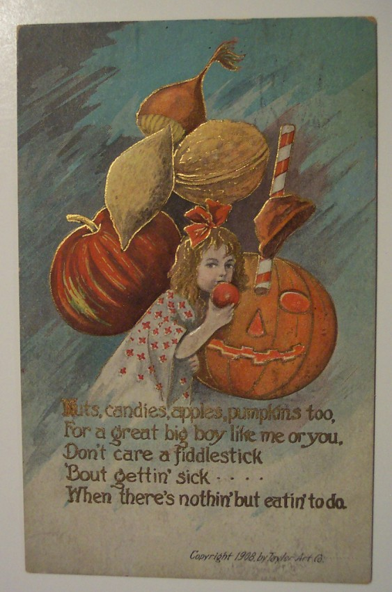 Ilustraciones vintage Halloween 073